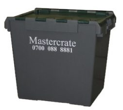 Lidded Computer Crate